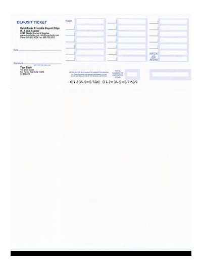 Handy image with regard to quickbooks printable deposit slips