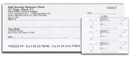 manual business 3page checks